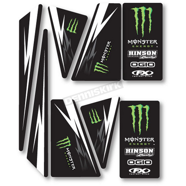 Factory Effex Universal ATV Monster Energy Trim Kit - 1350022