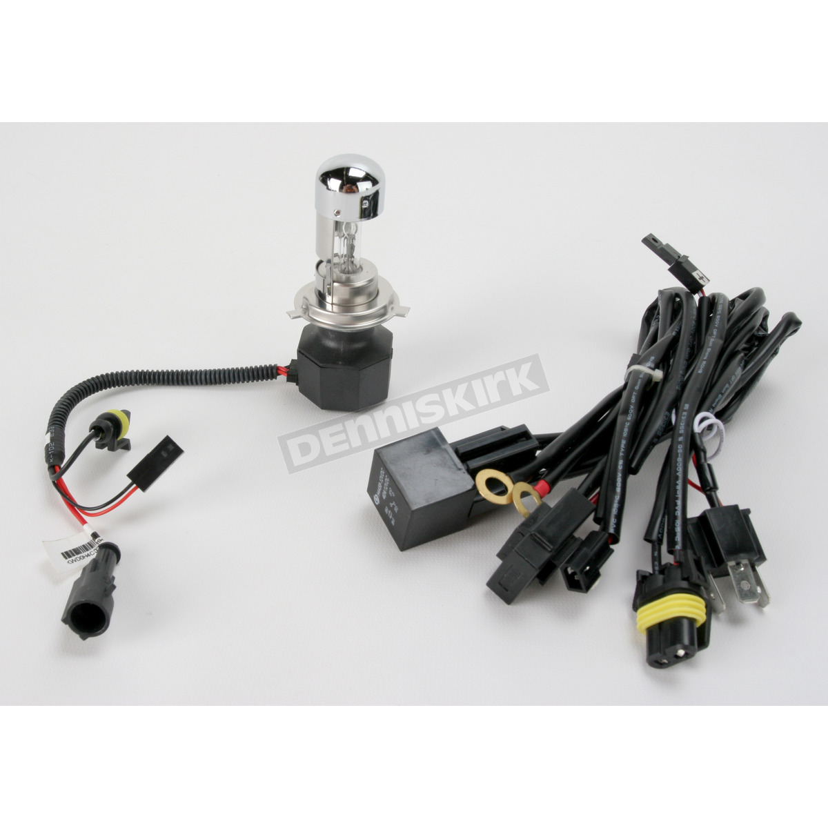 drag specialties bulb and wiring harness for hid headlight. Black Bedroom Furniture Sets. Home Design Ideas