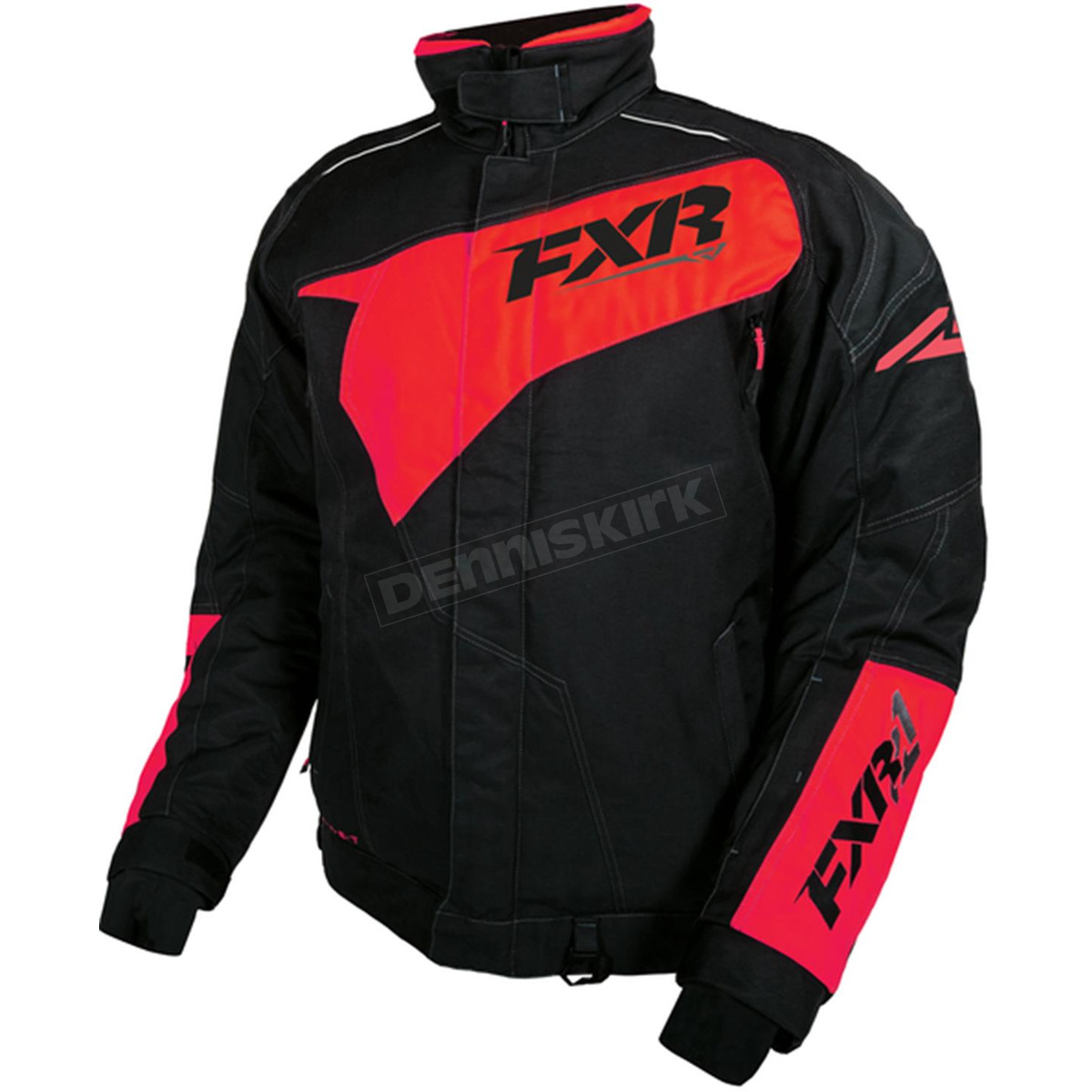 Harley Fxr Turbo: FXR Racing Black/Red Turbo Jacket