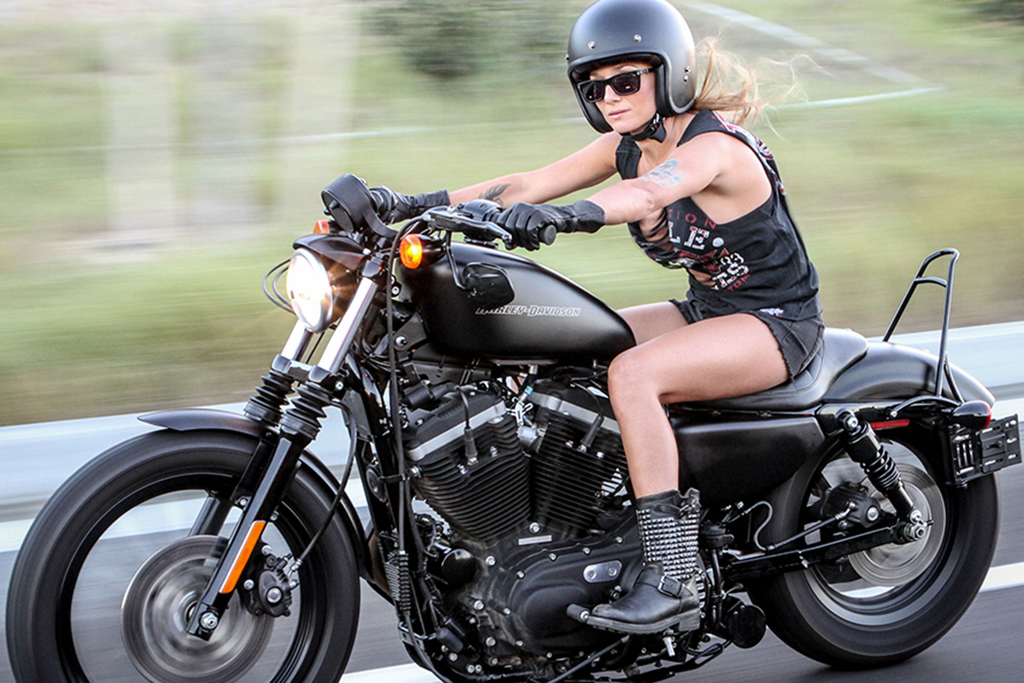 Turn Your Sportster Into A Long Haul Touring Bike The Aftermarket Experience