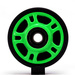 360 degree image for Lime Idler Wheel w/Bearing - 4702-0049
