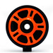 360 degree image for Orange Idler Wheel w/Bearing - 4702-0054