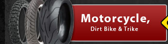 View Tires for Your Motorcycle, Dirt Bike & Trike