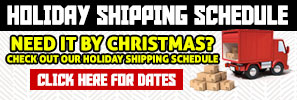 Holiday Shipping