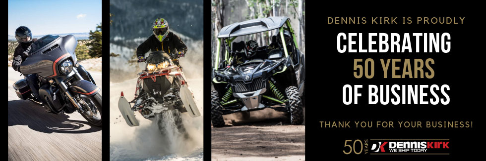 Motorcycle, ATV/UTV and Snowmobile Parts and Accessories | Dennis Kirk