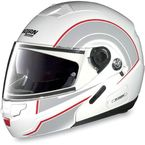 White/Red/Anthracite N90 N-Com Modular Helmet - N905271680245
