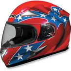 FX-90 Orange Rebel Helmet - 0101-3448