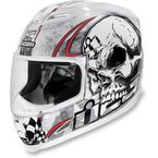 White Death or Glory Helmet - 0101-4711
