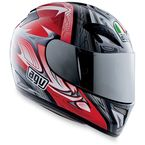 T-2 Red Multi Helmet - 01014313
