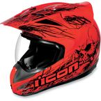 Variant Red Etched Helmet - 0101-4737