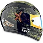 Black T-2 Warrior Helmet - 01015546