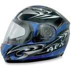 FX-90 W-Dare Blue Helmet - 0101-5769