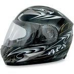 Black W-Dare FX-90 Helmet - 0101-5775