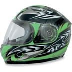 Green W-Dare FX-90 Helmet - 0101-5793