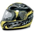 Yellow W-Dare FX-90 Helmet - 0101-5799