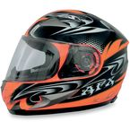 Safety Orange W-Dare FX-90 Helmet - 0101-5803