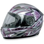 FX-90 Passion Pink/Silver Helmet - 0101-5840