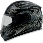 Black FX-90 Species Helmet - 0101-6318
