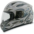 Silver FX-90 Species Helmet - 0101-6324