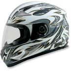 Pearl White FX-90 Species Helmet - 0101-6330