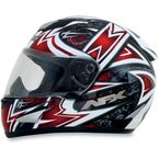 Red FX-95 Mega Helmet - 0101-6353