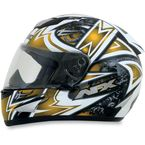 Yellow FX-95 Mega Helmet - 0101-6372