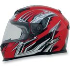 Red Multi FX120 Helmet - 0101-6445
