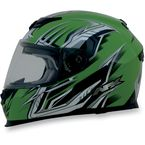 Green Multi FX120 Helmet - 0101-6465