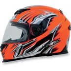 Safety Orange Multi FX120 Helmet - 0101-6470
