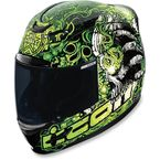 Black/Green Jason Britton Airmada Helmet - 0101-6682