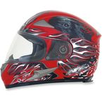 Red Multi FX-90 Reaper Helmet - 0101-6855
