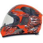 Safety Orange Multi FX-90 Reaper Helmet - 0101-6876