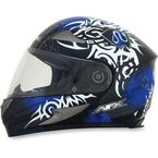 Blue Multi FX-90 Danger Helmet - 0101-6895
