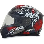 Red Multi FX-90 Danger Helmet - 0101-6900