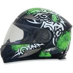 Green Multi FX-90 Danger Helmet - 0101-6907