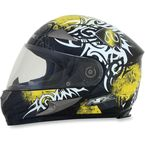 Yellow Multi FX-90 Danger Helmet - 0101-6911