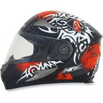Orange Multi FX-90 Danger Helmet - 0101-6919