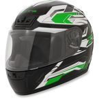 Green Phantom Frontier Helmet - 0101-6978