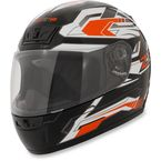 Orange Phantom Frontier Helmet - 0101-6984
