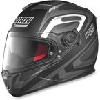 Flat Black/Anthracite/White N86 Overtaking Helmet - N8R5277930326