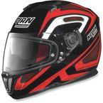Black/Red/White N86 Overtaking Helmet - N8R5277930336