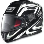 Black/White N86 Overtaking Helmet - N8R5277930346