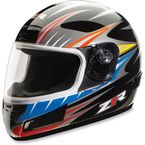 Youth Blitz Strike Black Helmet - 01020142