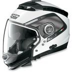 Metallic White/Black N44 Trilogy N-Com® Tech Helmet - N445277920211