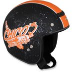 Black/Orange Jimmy Chico Helmet - 0104-1411
