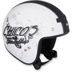 White/Black Jimmy Chico Helmet - 0104-1416
