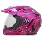 Fuchsia Multi FX-55 7-in-1 Helmet - 0104-1595