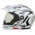 Pearl White Multi FX-55 7-in-1 Helmet - 0104-1601