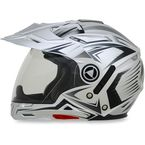 Silver Multi FX-55 7-in-1 Helmet - 0104-1606