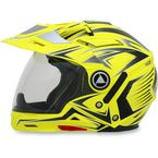 Hi-Vis Yellow Multi FX-55 7-in-1 Helmet - 0104-1612